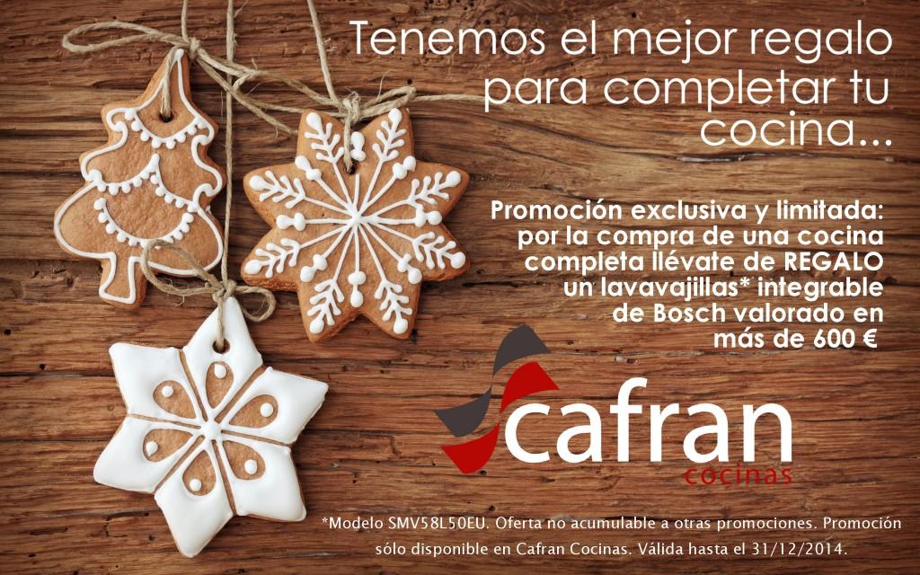 oferta cafran cocinas navidad 2014