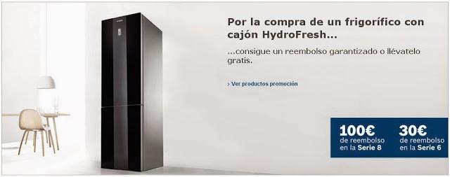 Bosch promoción Hydrofresh