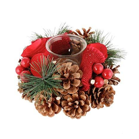 decoración navidad cocina