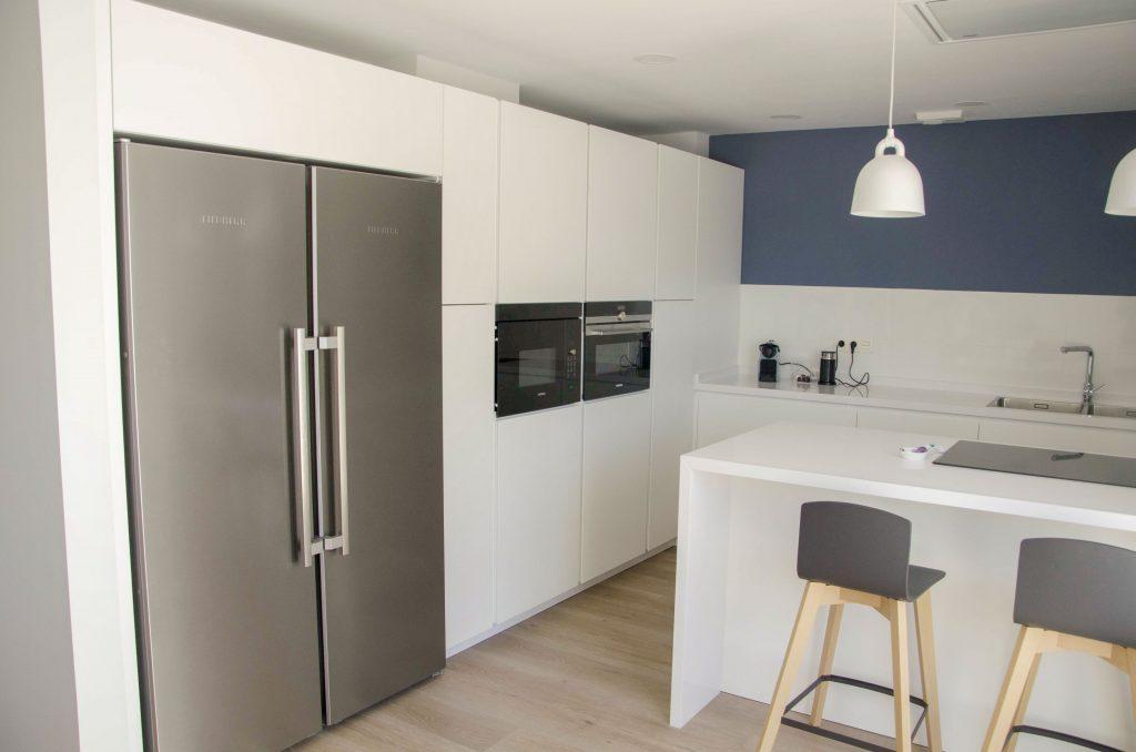 minimalismo cafran cocinas arrital