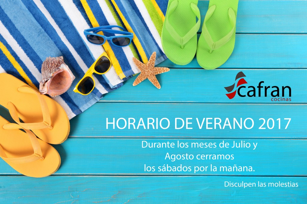 Cafran Horario Verano 2017