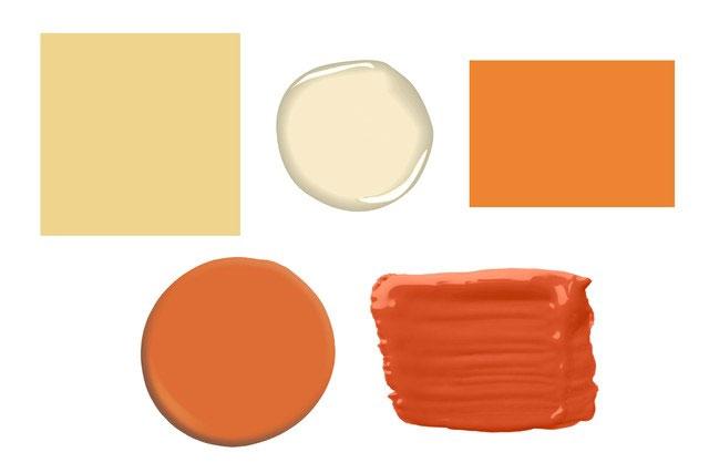 amarillo y naranja cafrancocinas teoriadelcolor