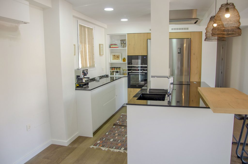 espacios abiertos cafran cocinas
