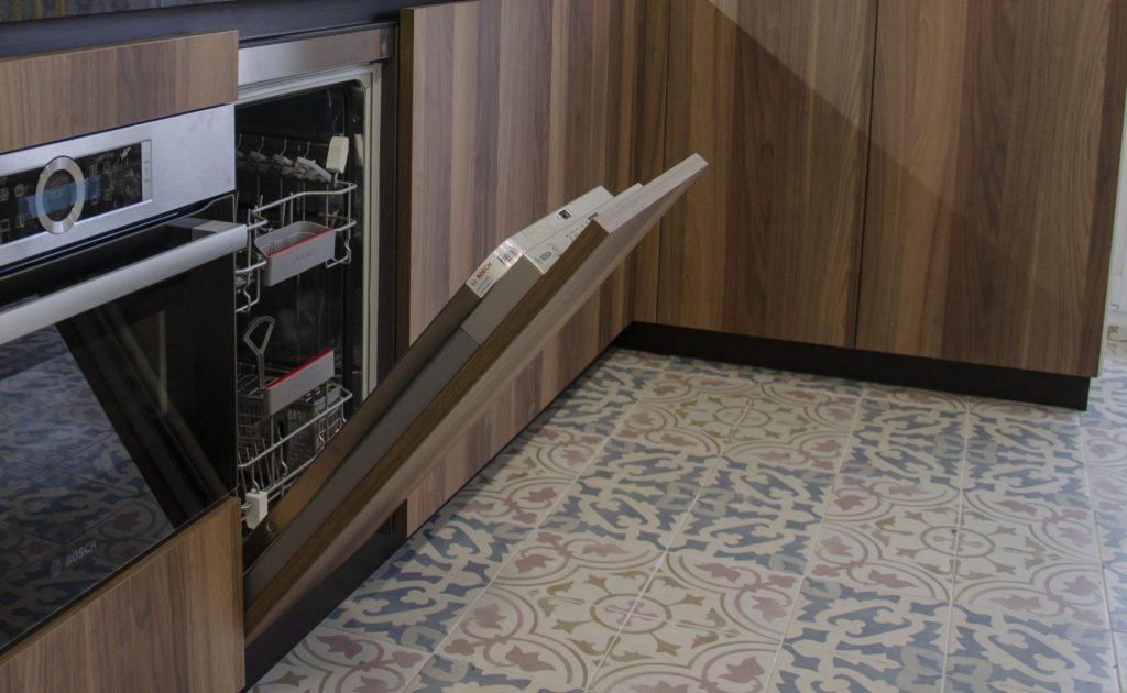 electrodomesticos integrados cafran cocinas lavavajillas