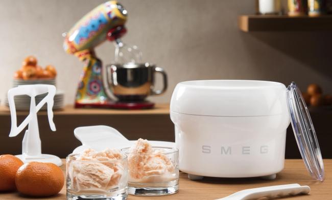 helado artesanal smeg cafran cocinas