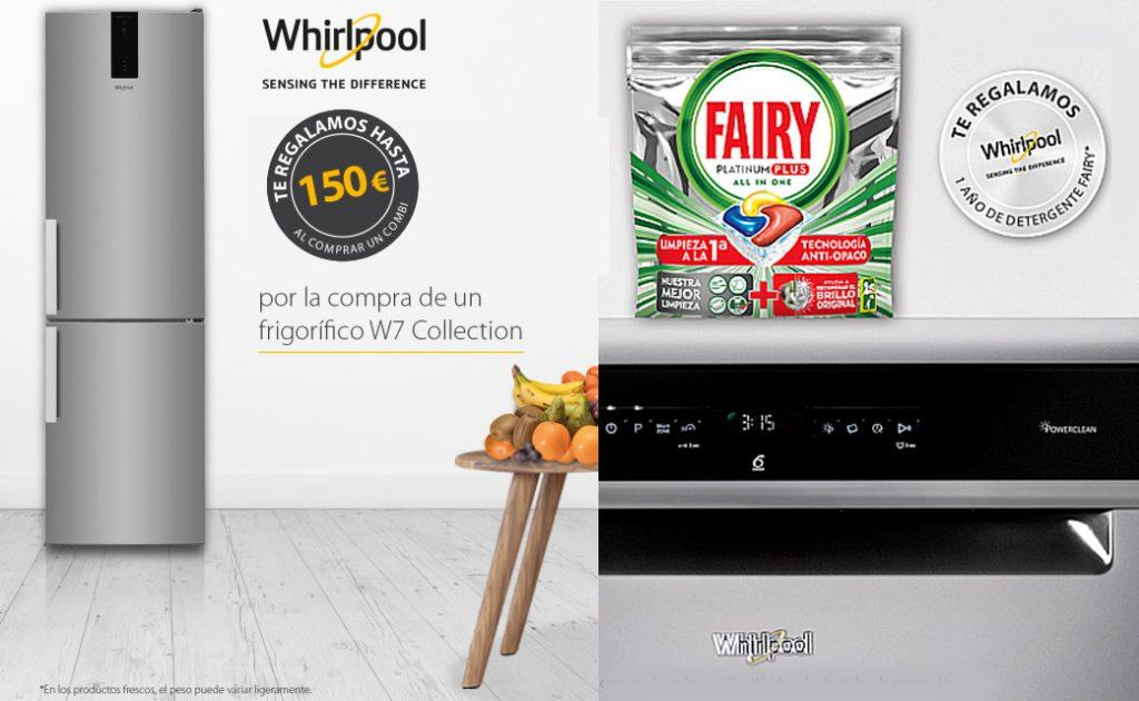 regalos whirpool lavavajillas frigo combi promocion