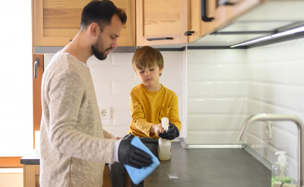 limpiar limpieza cocina