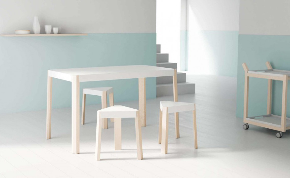 sostenibilidad cancio podio cafran cocinas mesa taburete
