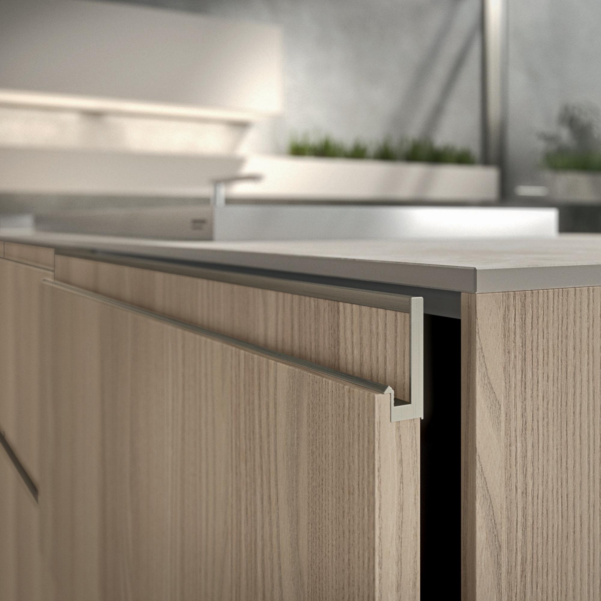 puertas y tiradores de cocina cover up cafran cocinas
