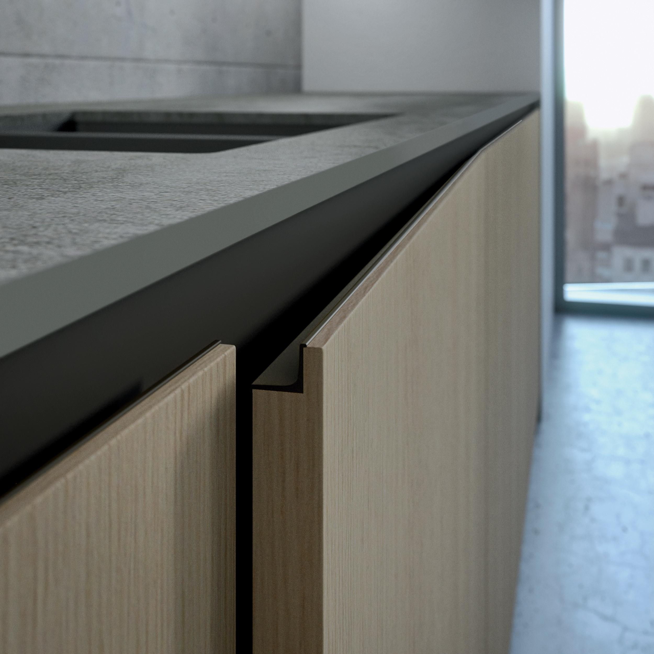 tirador puerta cocina perfil step arrital cafran ak_project
