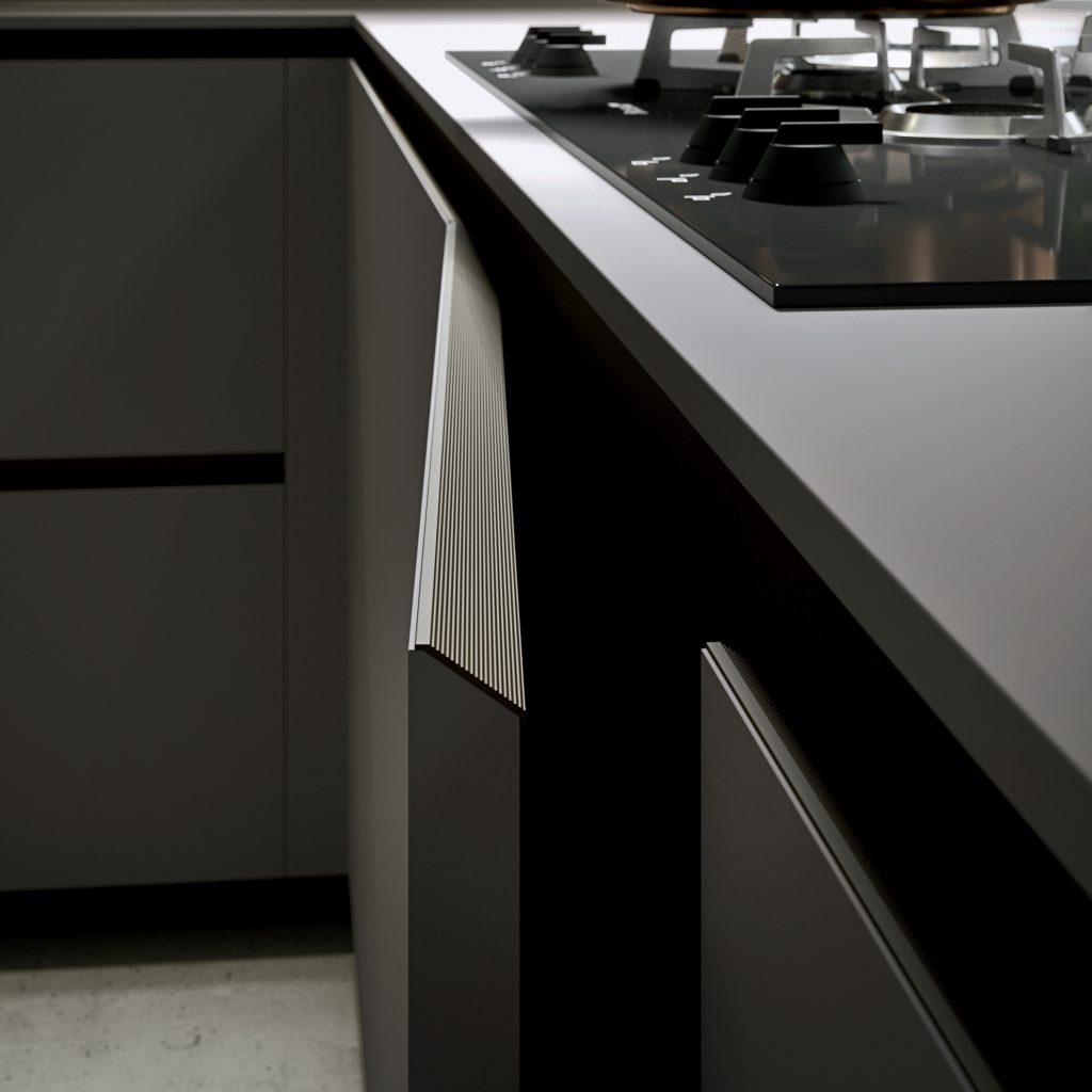 puerta perfil 30 grados ak_project cafran cocinas